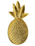 Golden pineapple tray for small items
