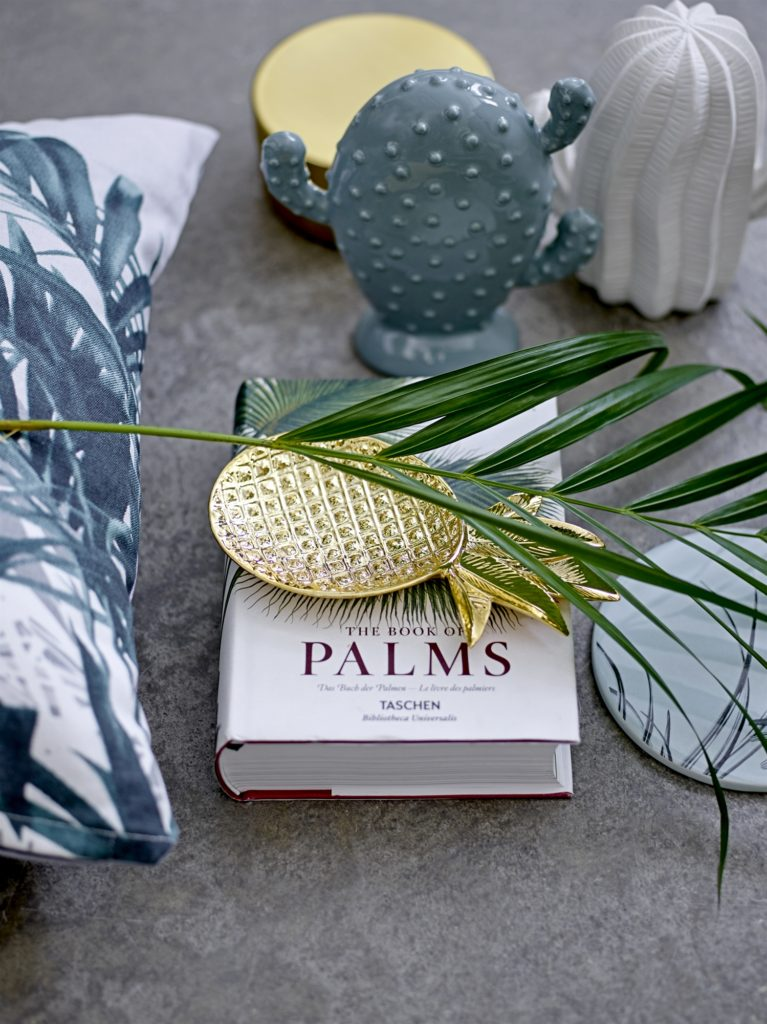 golden pineapple tray chic gift