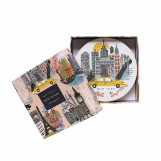 cities coasters gift box