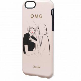 iphone 6 mobilskal illustrerad av garance dore present för tjejer