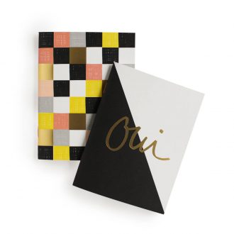 garance doré set of notebooks oui and non