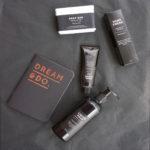 luxury black gift box set body care