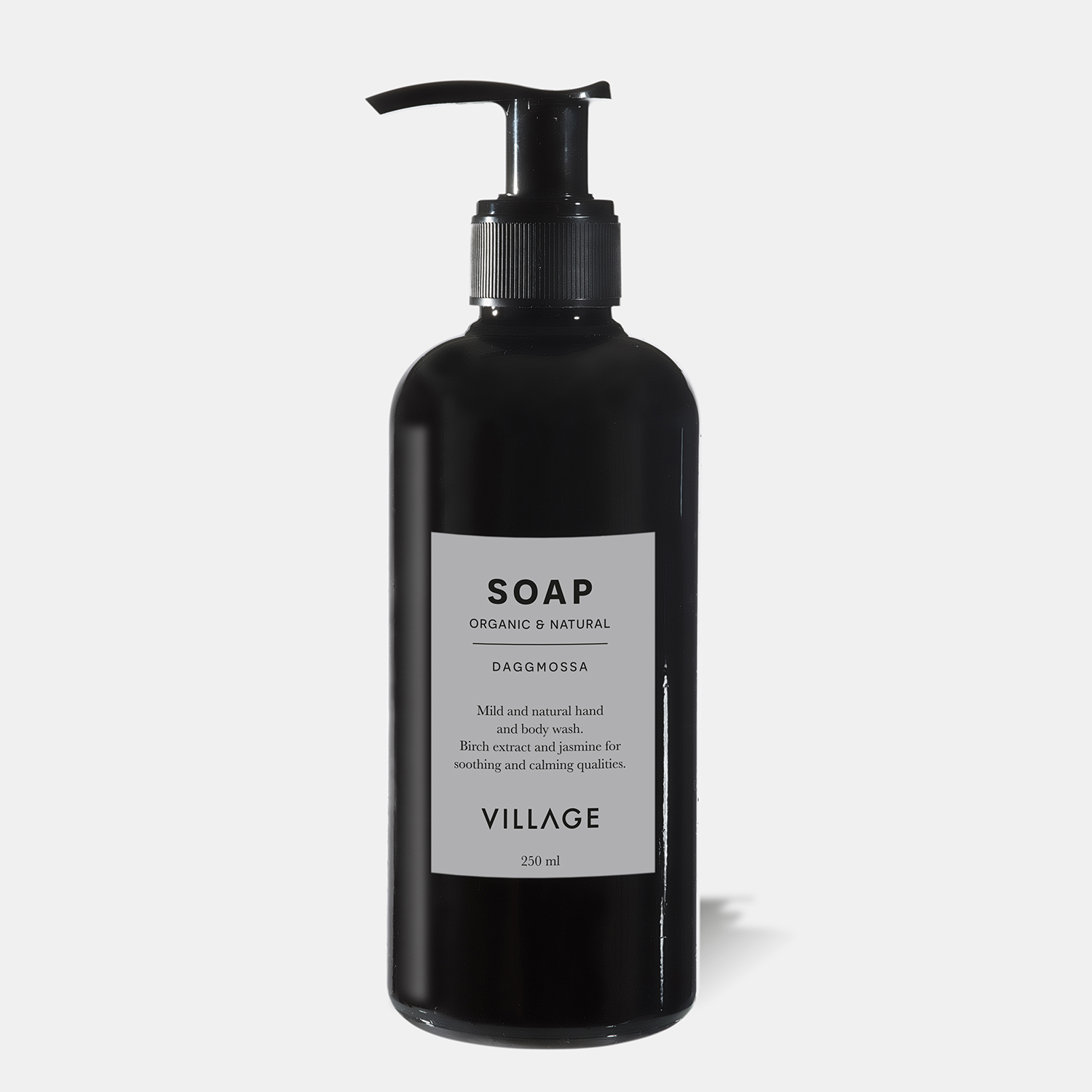 village liquid soap swedish organic brand