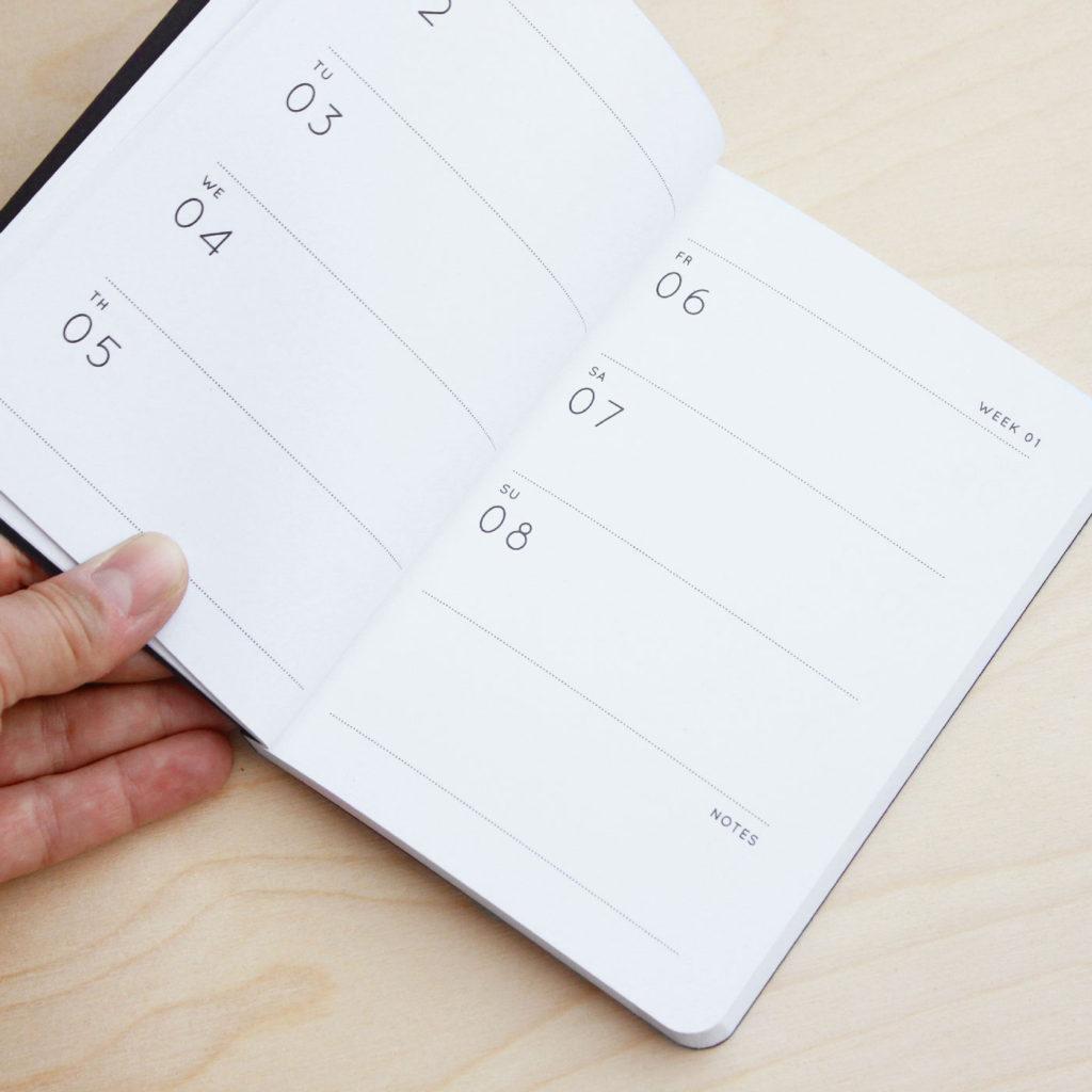 navucko planner calendar gift 2017