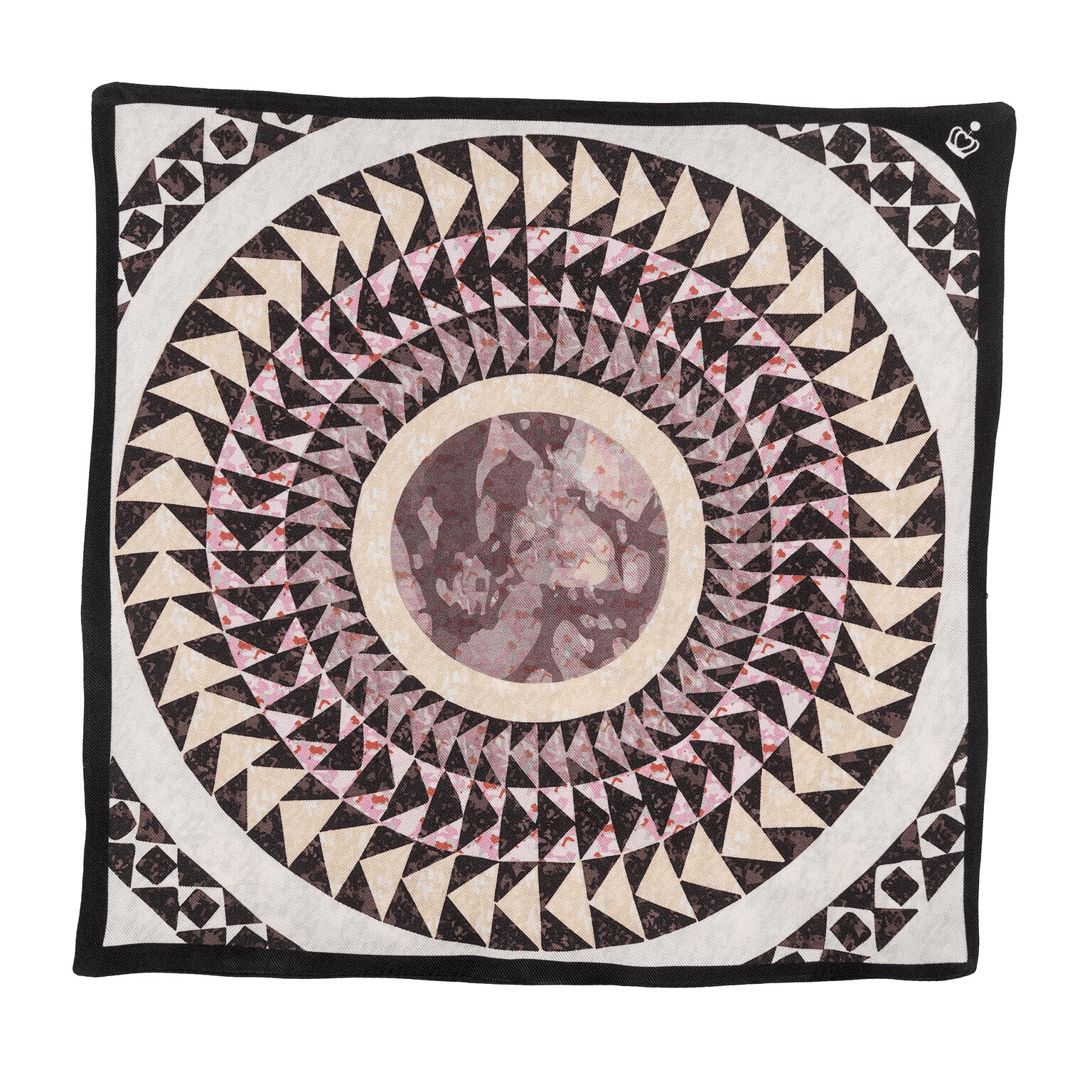 silk twill pocket square san marco by kueen