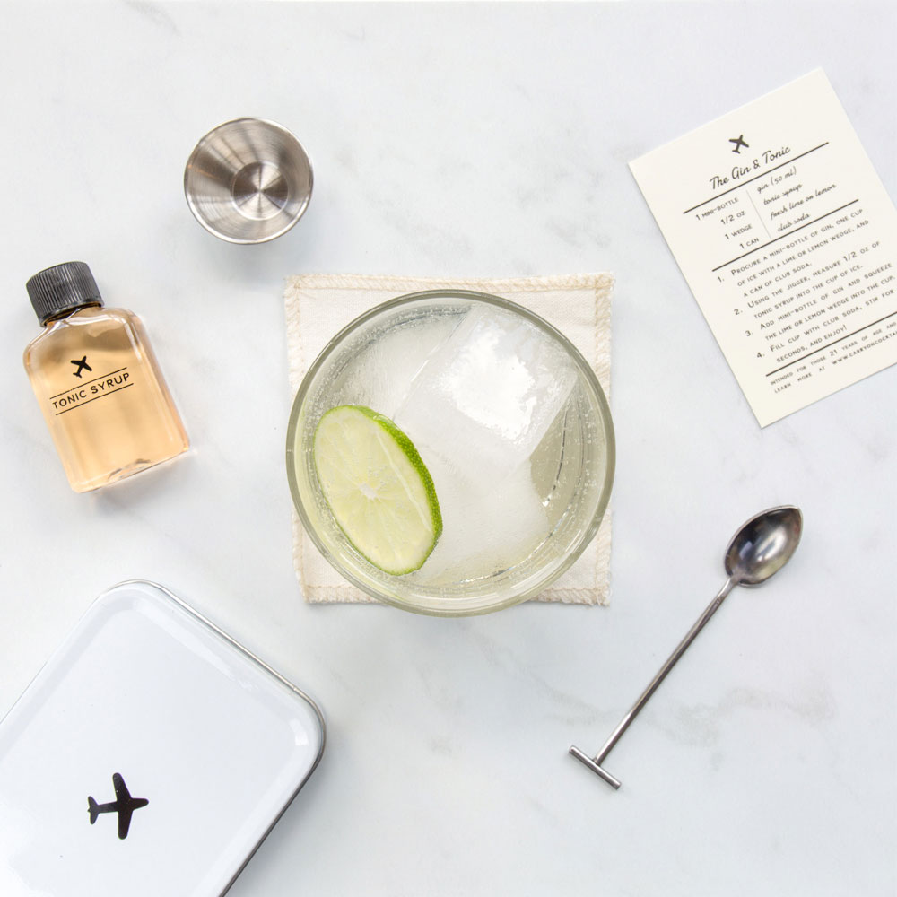 carry on cocktail kit gifts for travellers