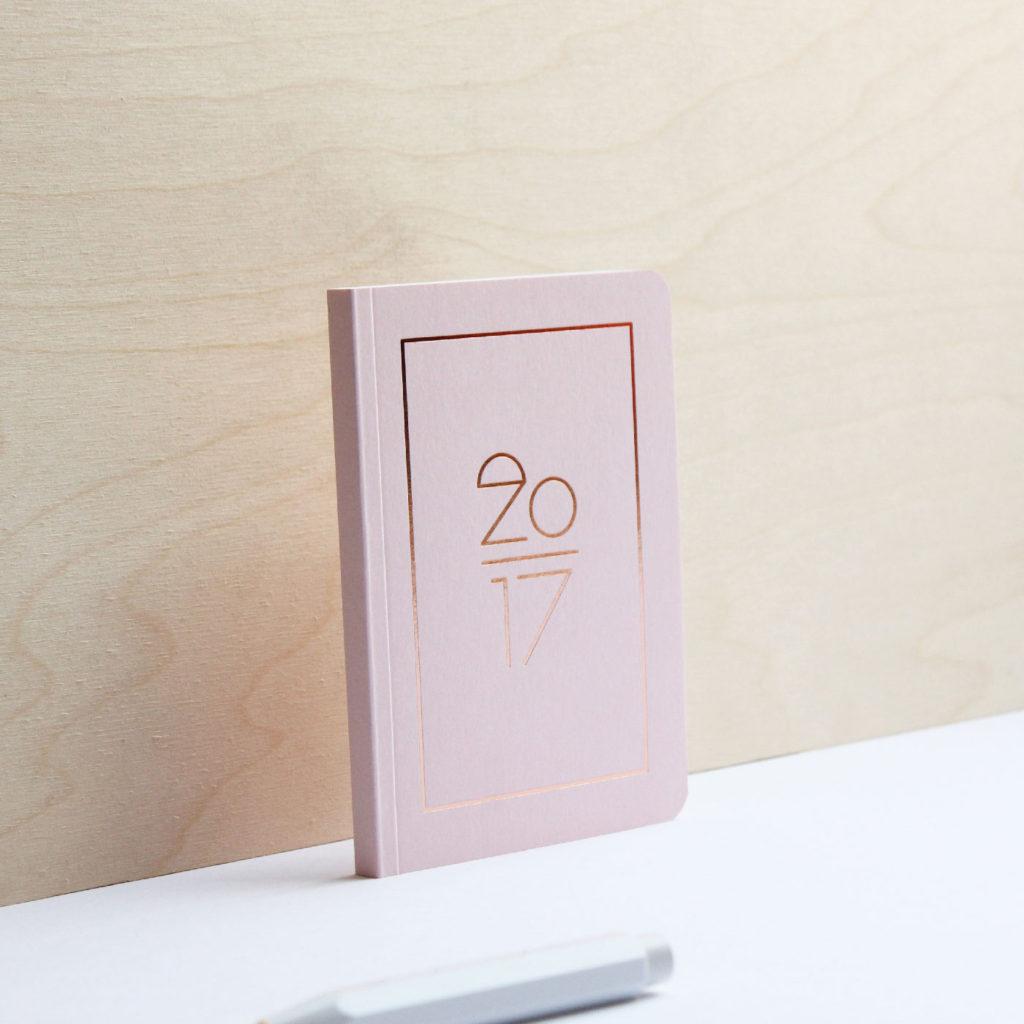 pink planner 2017 navucko luxury