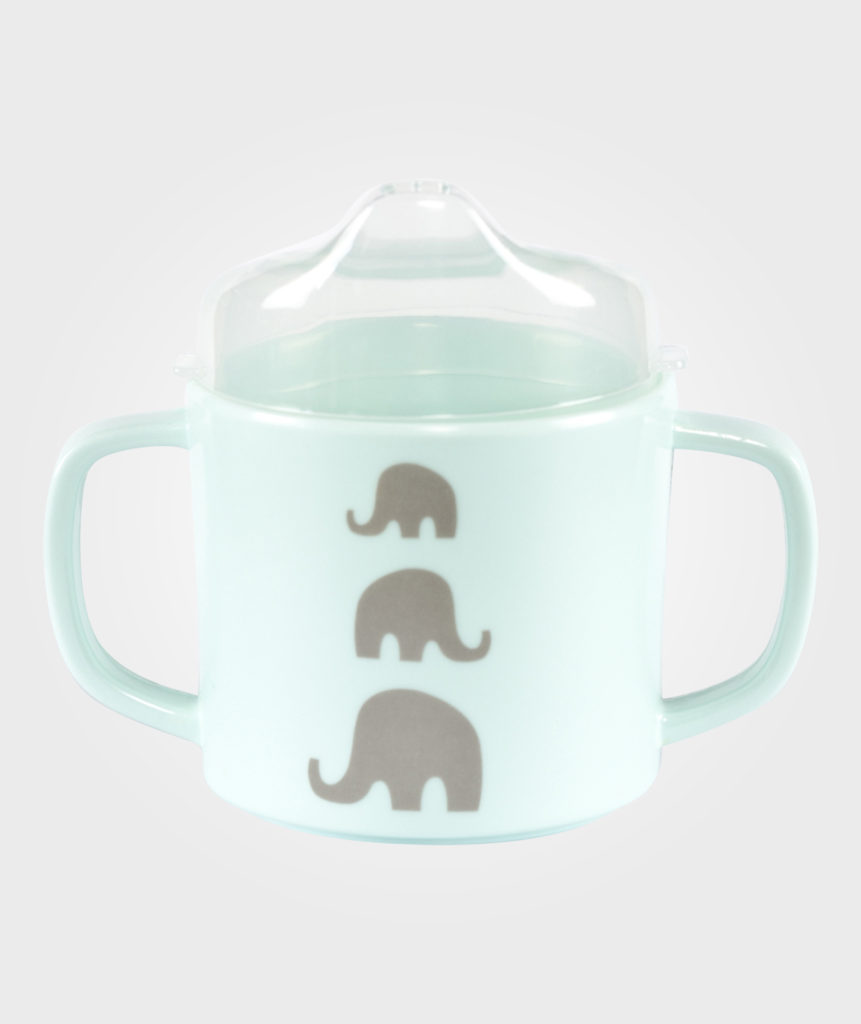 gift set for mum to be or baby shower green dinner set