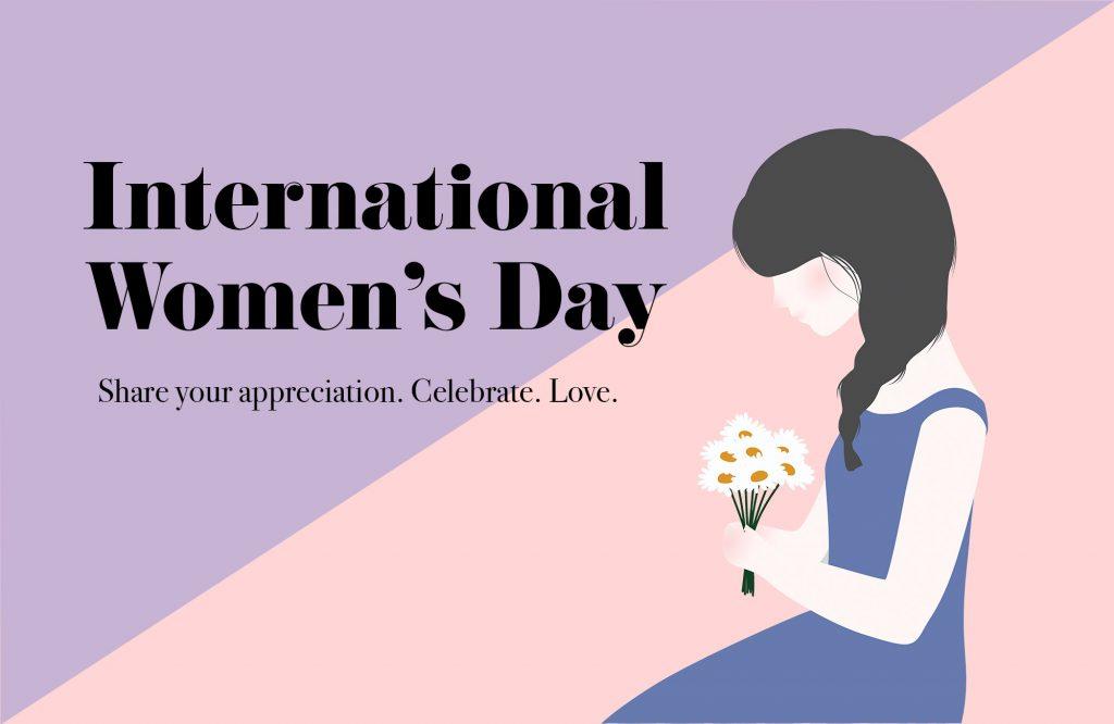 International women's day gifts sweden