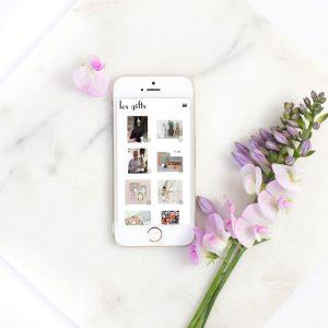 instagram shop les gifts