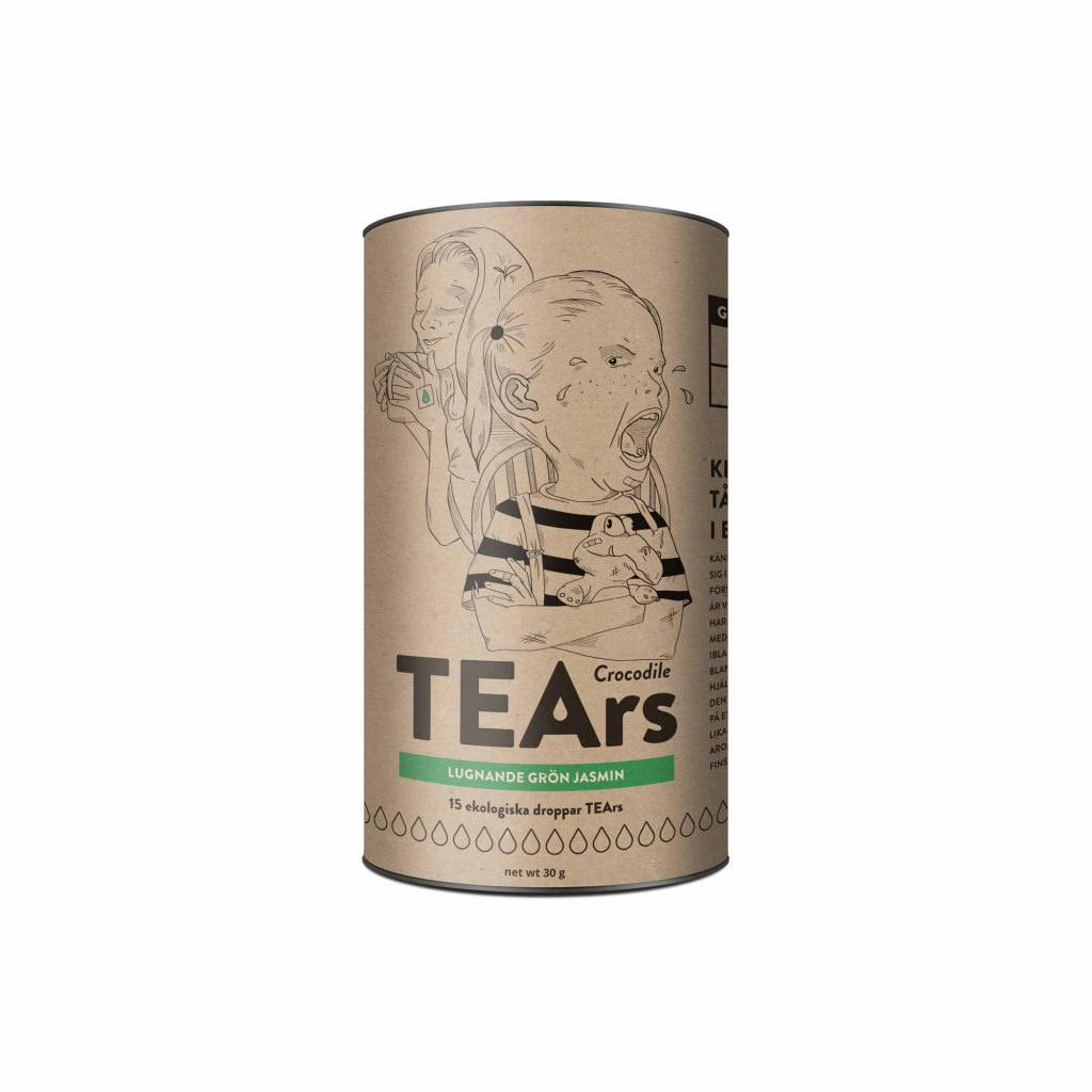 jasmin crocodile tears green tea