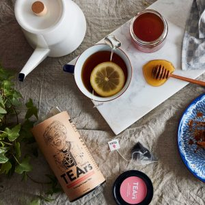 laughing tears english breakfast tea