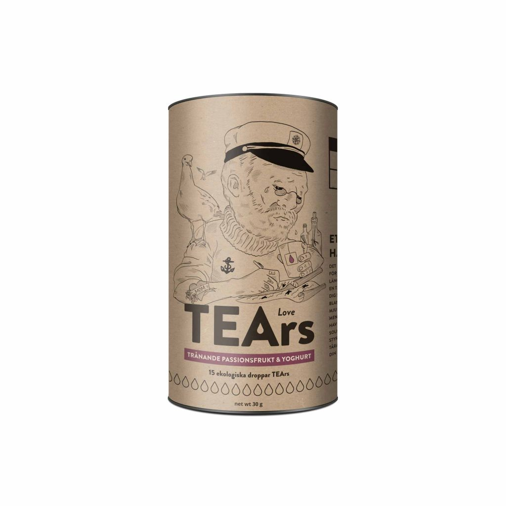 tea love tears ecological tea brand