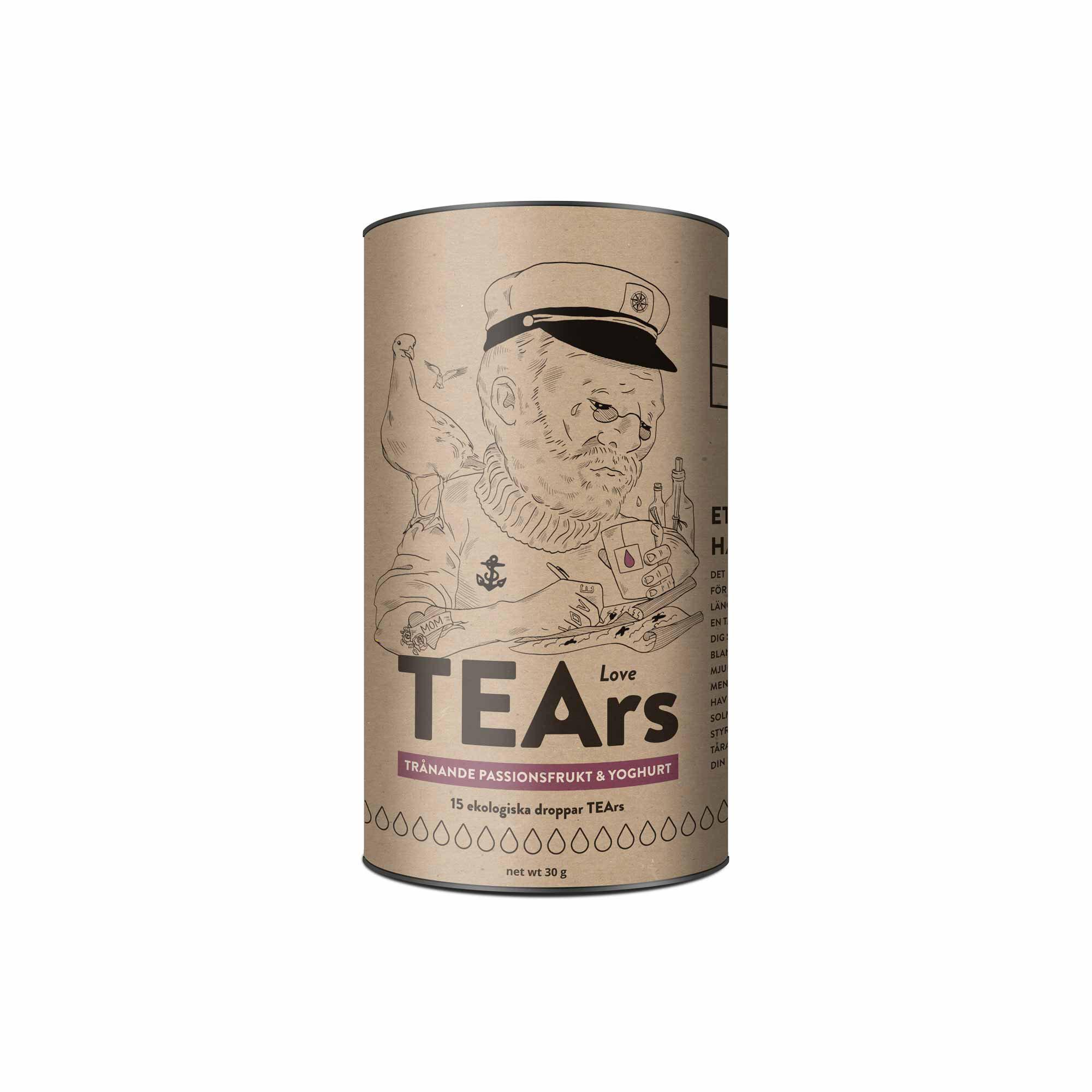 tea love tears ecological tea brand