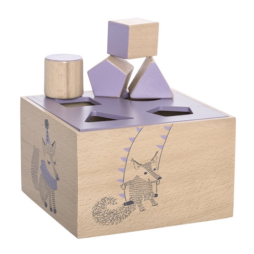 intelligence box purple puzzle toy bloomingville