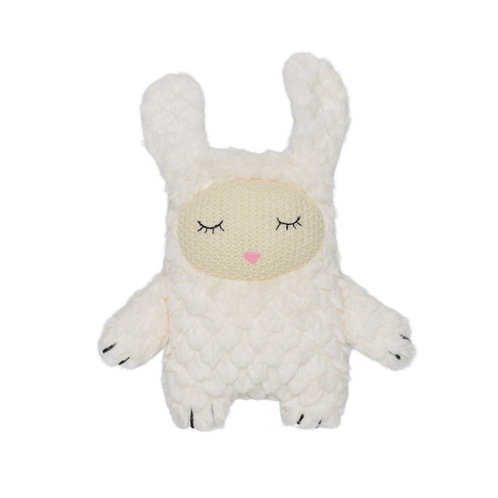 plush bnny rabbit toy bloomingville white color