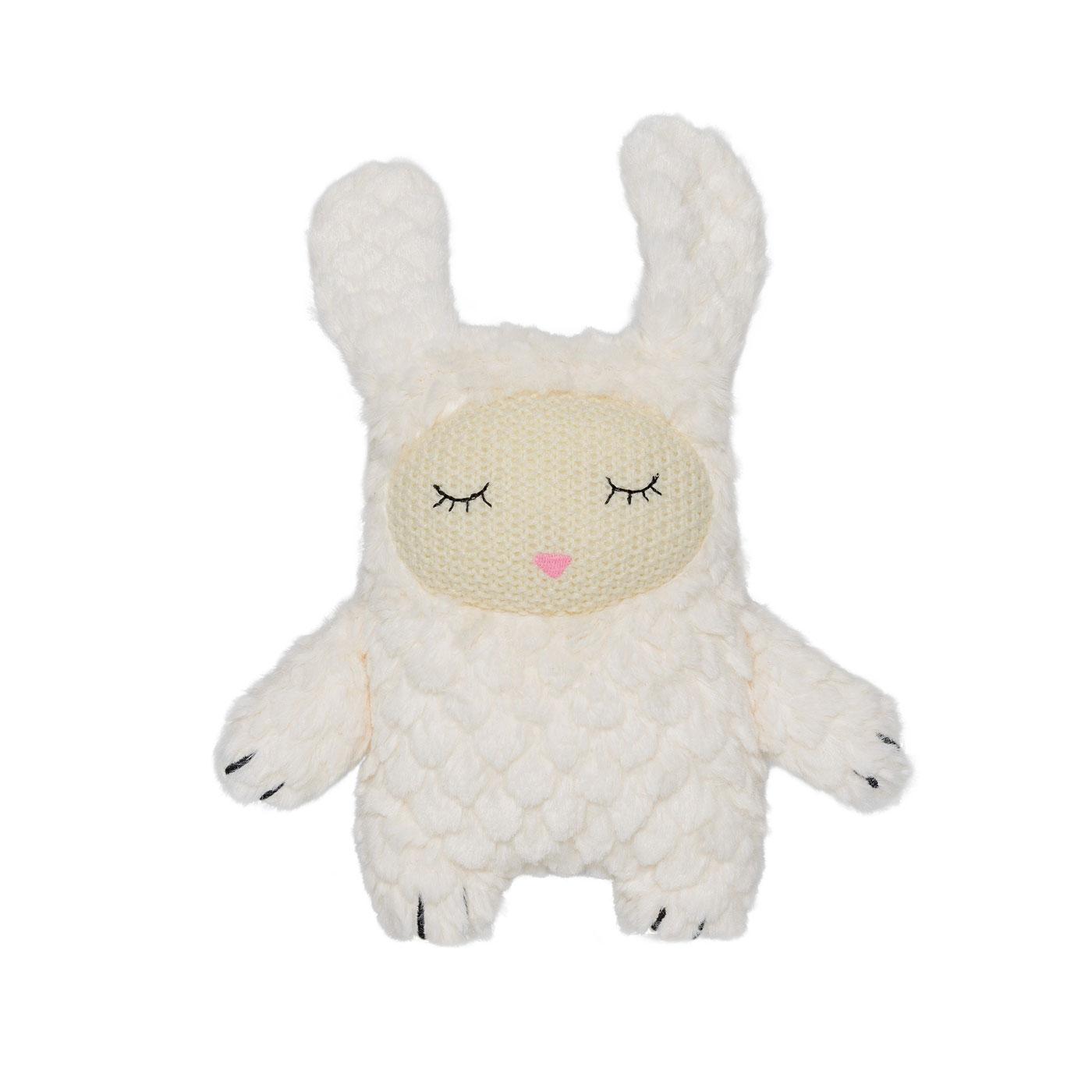 plush bnny rabbit toy bloomingville white color